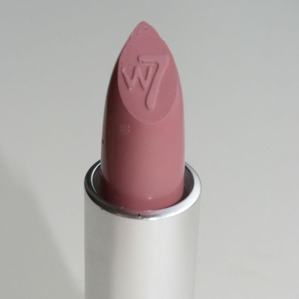 w7 lipstick review matte nude