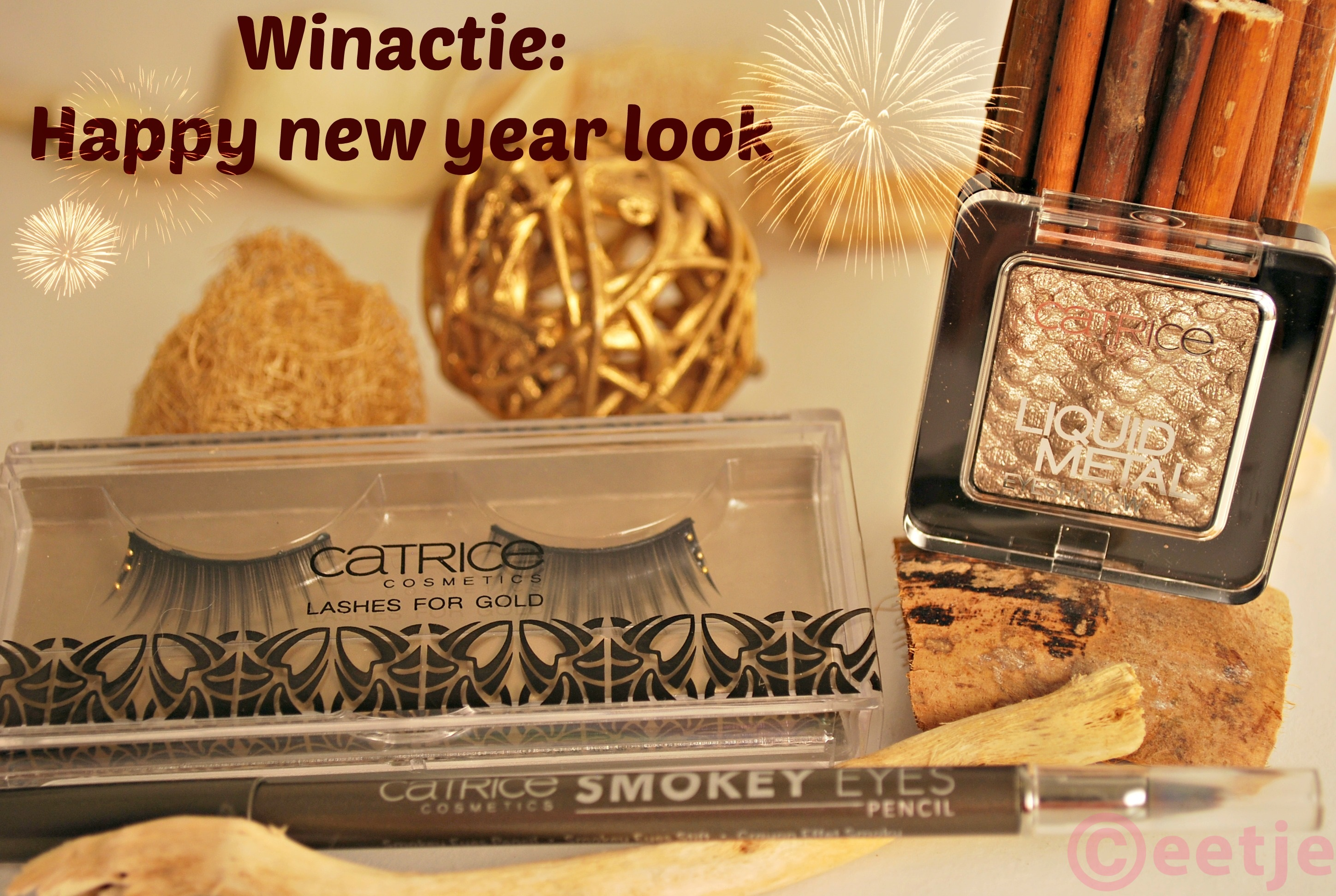 Catrice lashes gold Liquid Metal mokey eyes pencil
