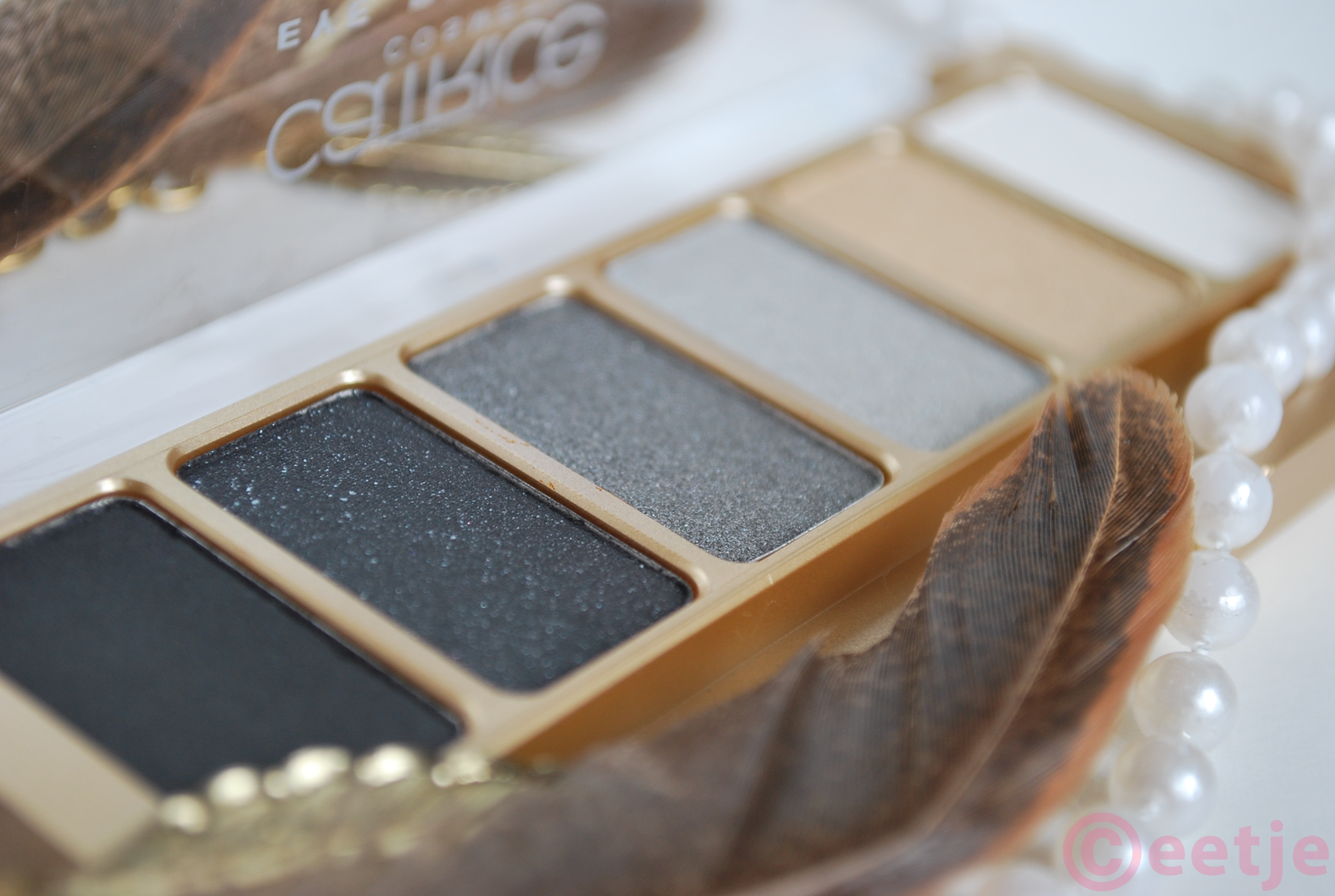 Catrice oogschaduwpalette feathers and pearls review