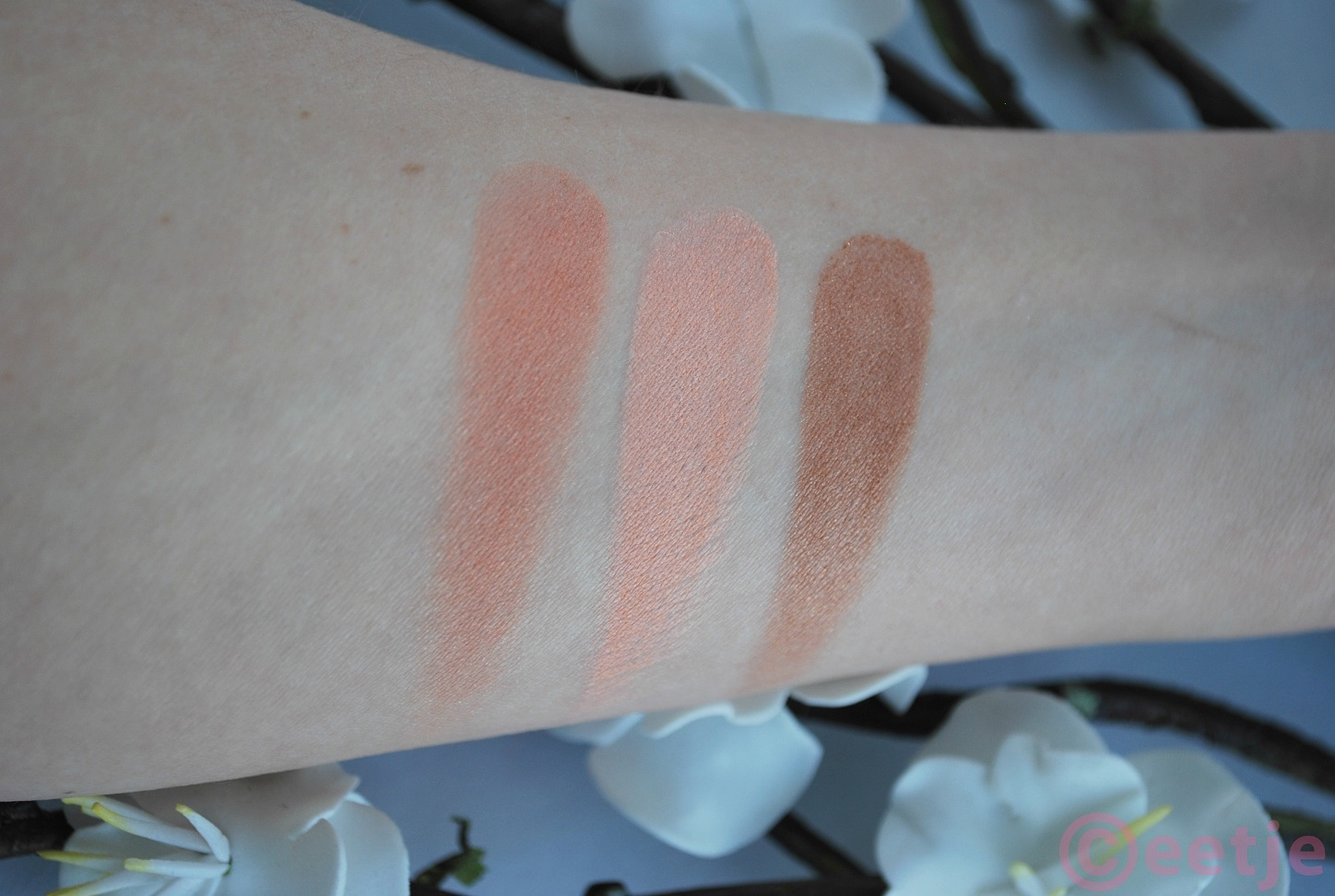 swatch review hema blush satin mat nr 04 nr 05 nr 06