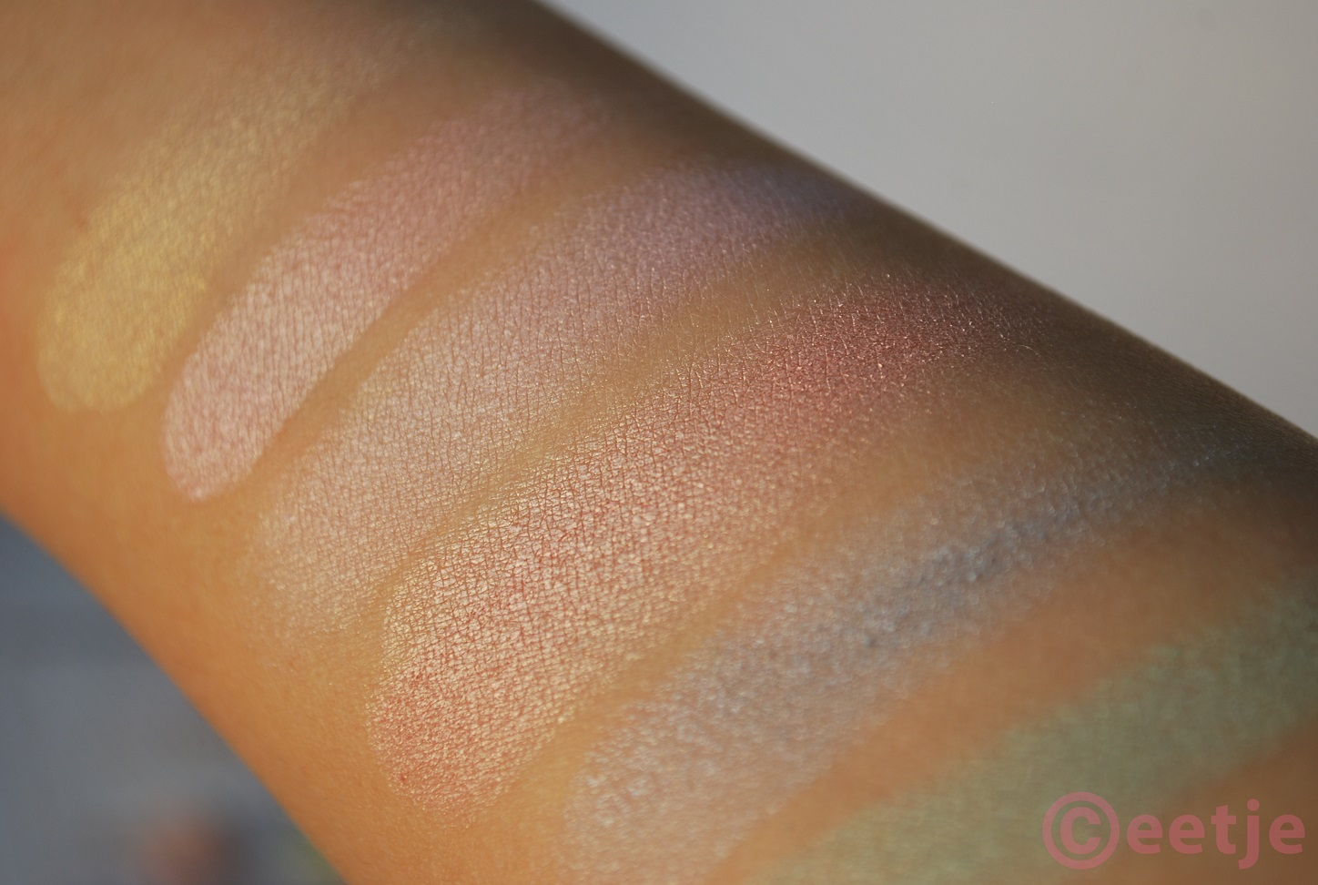 Swatches review All about Candy Candies Essence oogschaduw palette