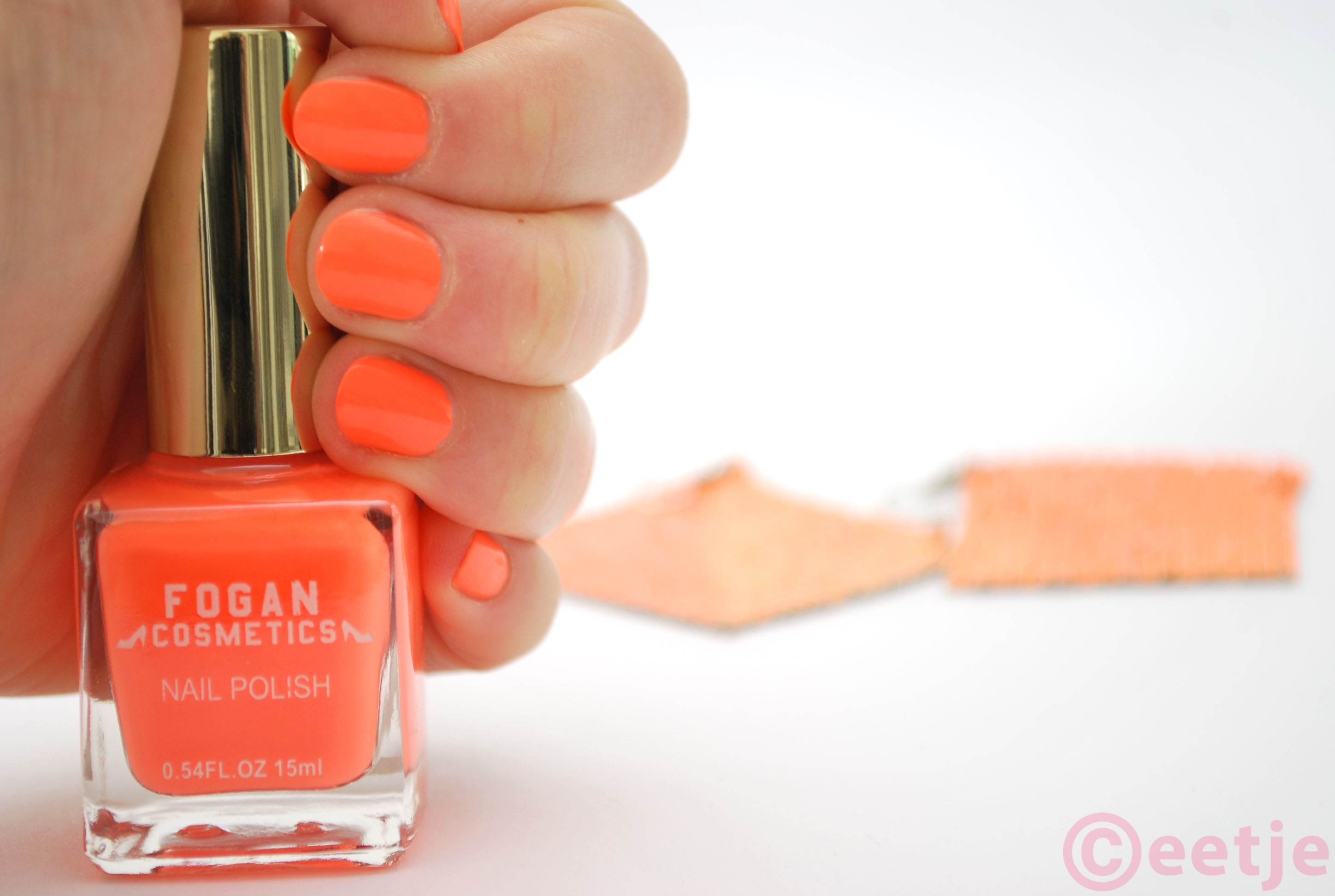 swatch fogan nagellak review oranje
