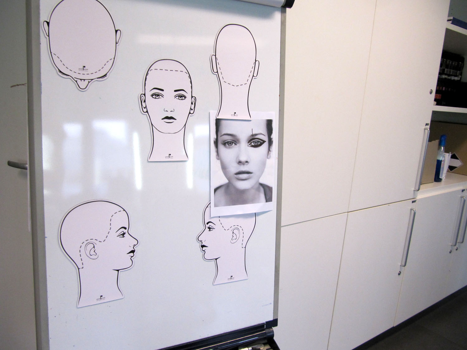 B academy Amsterdam face charts