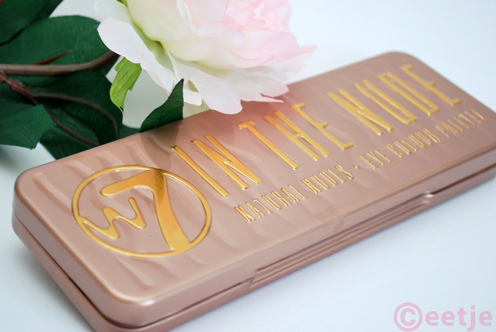 W7 in the nude palette review en swatches