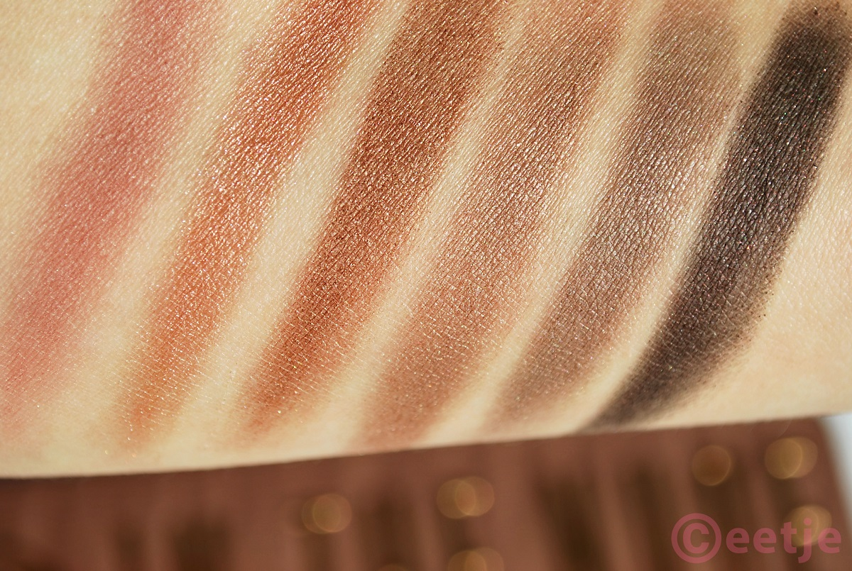 W7 in the nude palette swatches en review UD nakd3