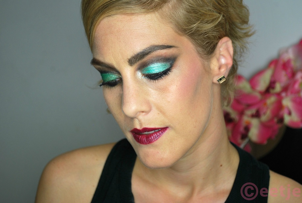 groene smokey eyes kohlpotlood sleek