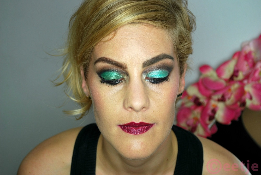 groene smokey eyes kohlpotlood