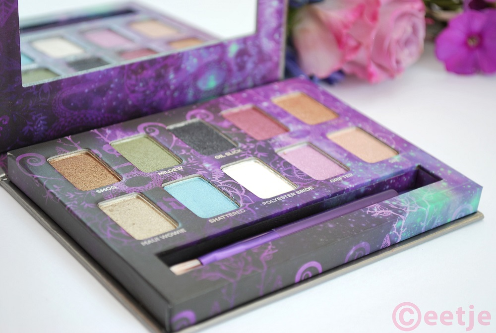 Best eyeshadow colors Urban Decay Ammo palette review