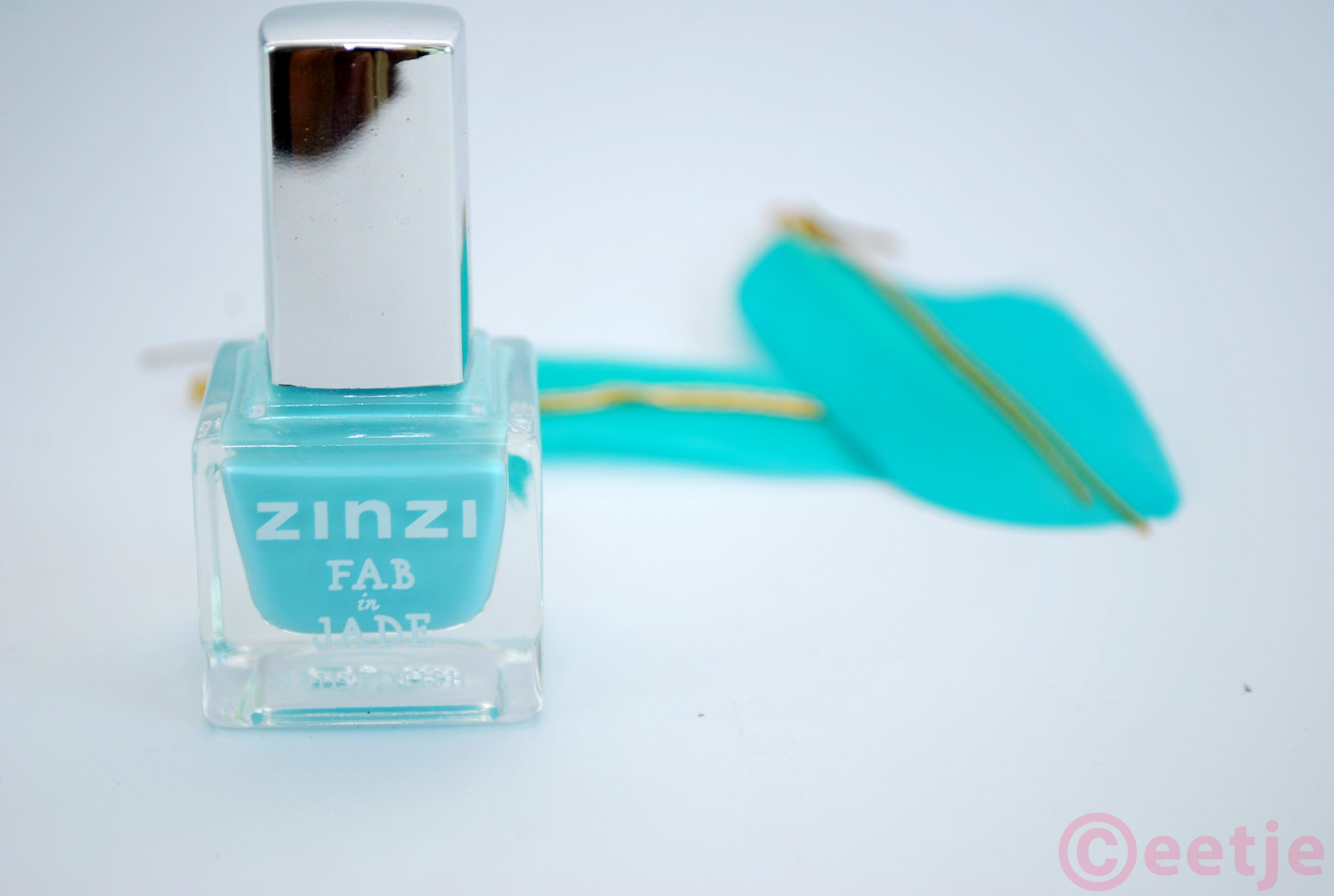 Fab in Jade nagellak Zinzi review