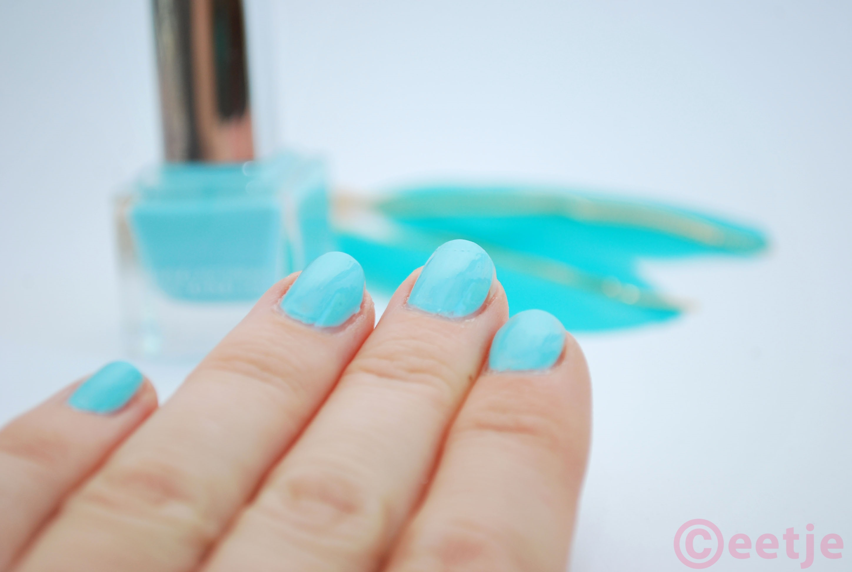 Review swatche nagellak Zinzi Fab in Jade