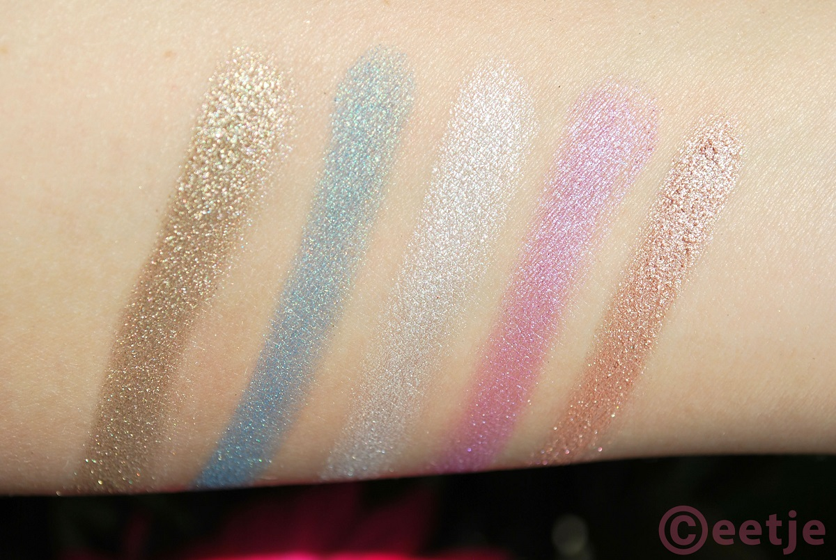 Swatches Ammo palette Urban Decay best colors ever