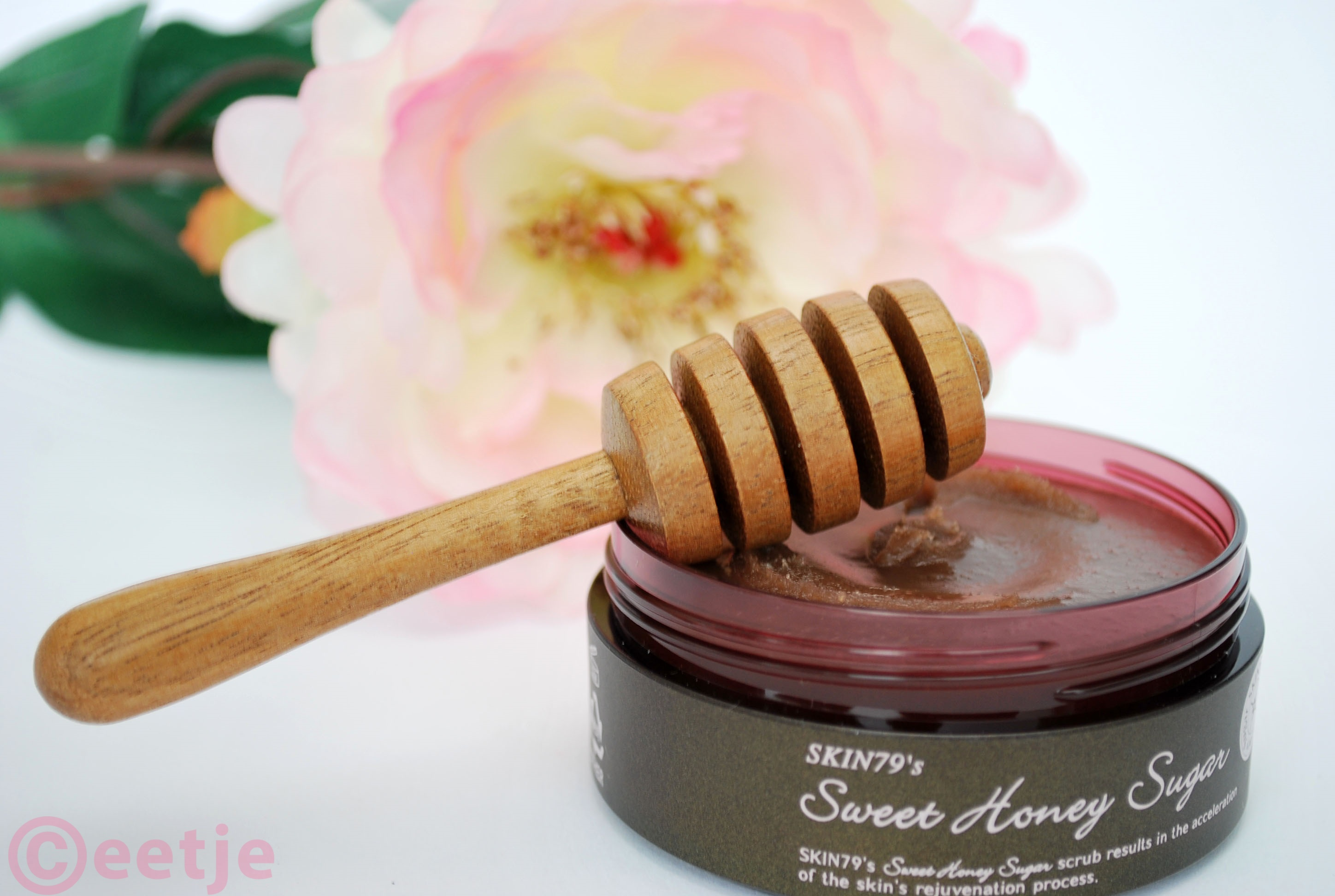 Review Sweet honey sugar scrub BB cream shop ervaring test