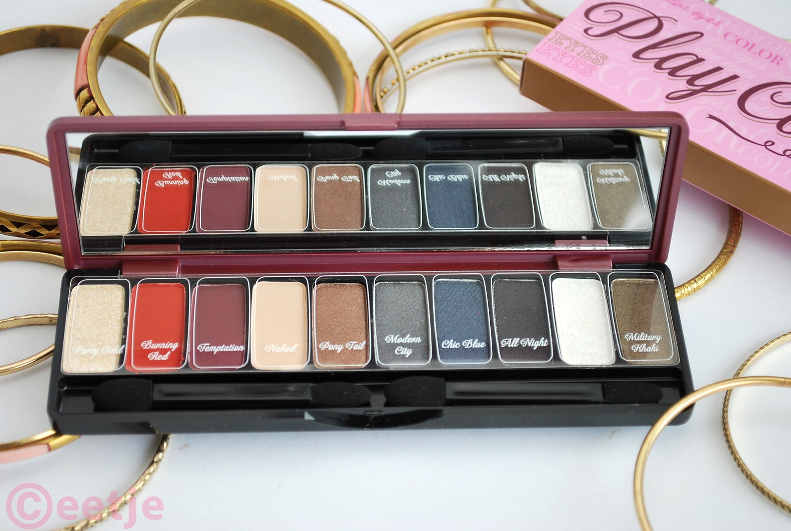 colors eye shadow palette etude house so hot review
