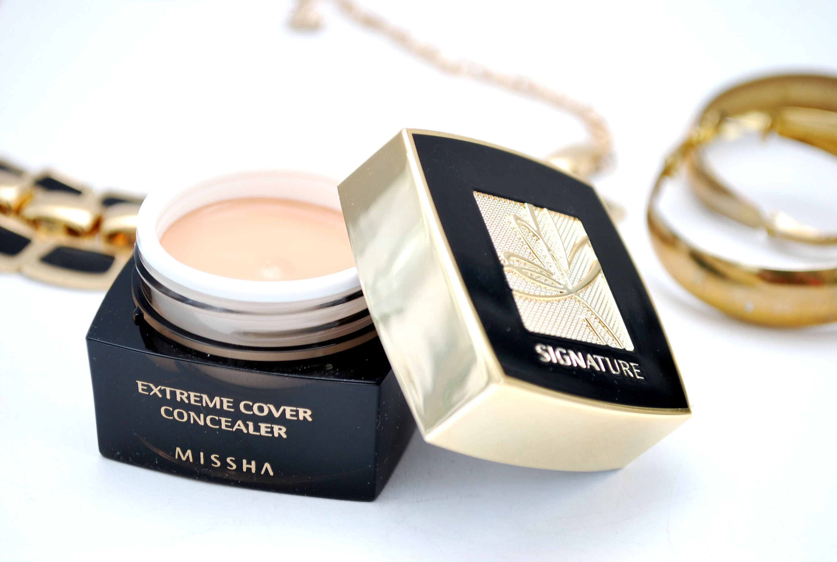 review concealer Missha Signature Extreme Cover Light Beige