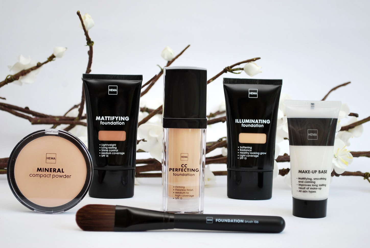 review nieuwe foundations hema