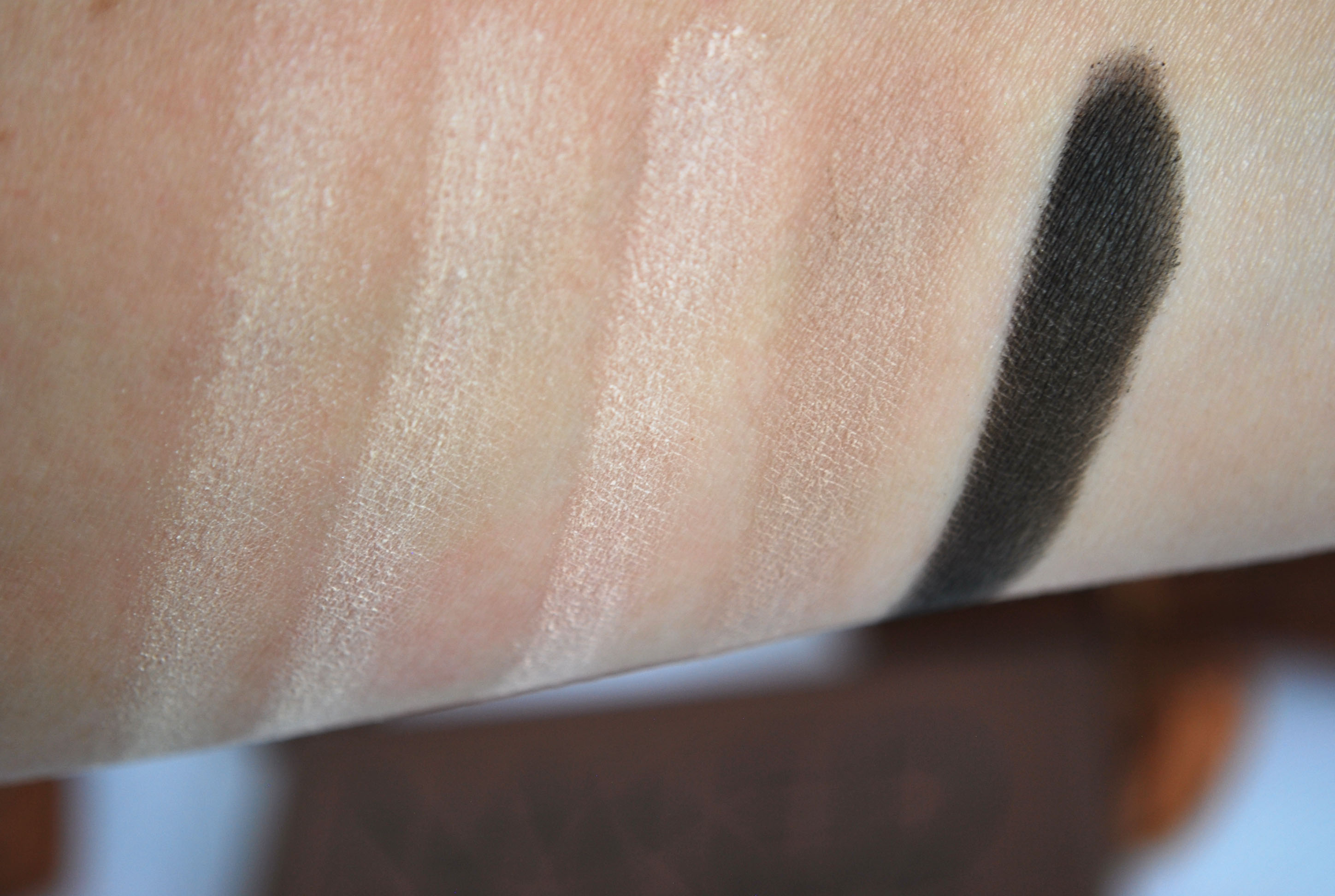 swatches naked basic dupe urban decay