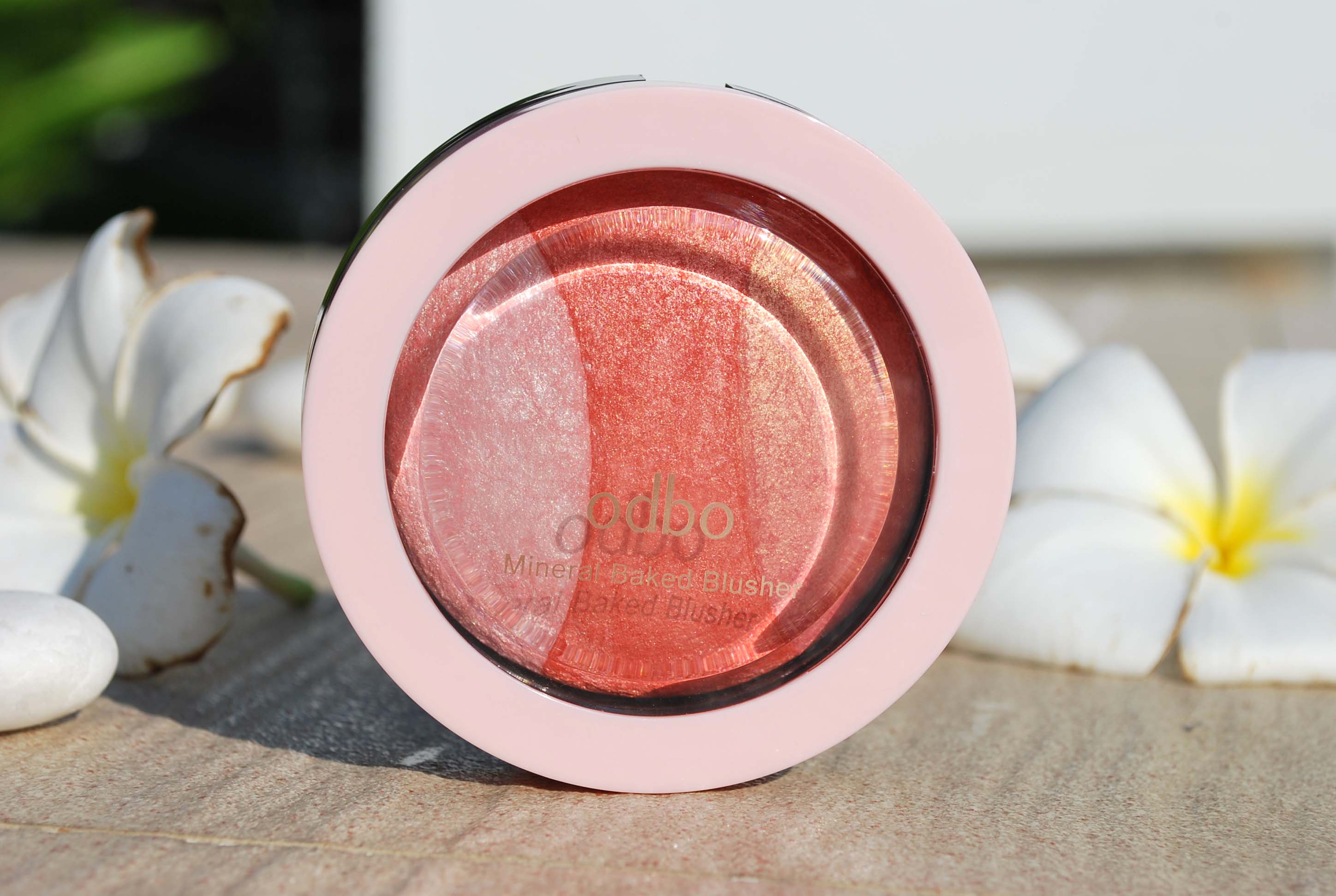 review odbo blush mineral baked