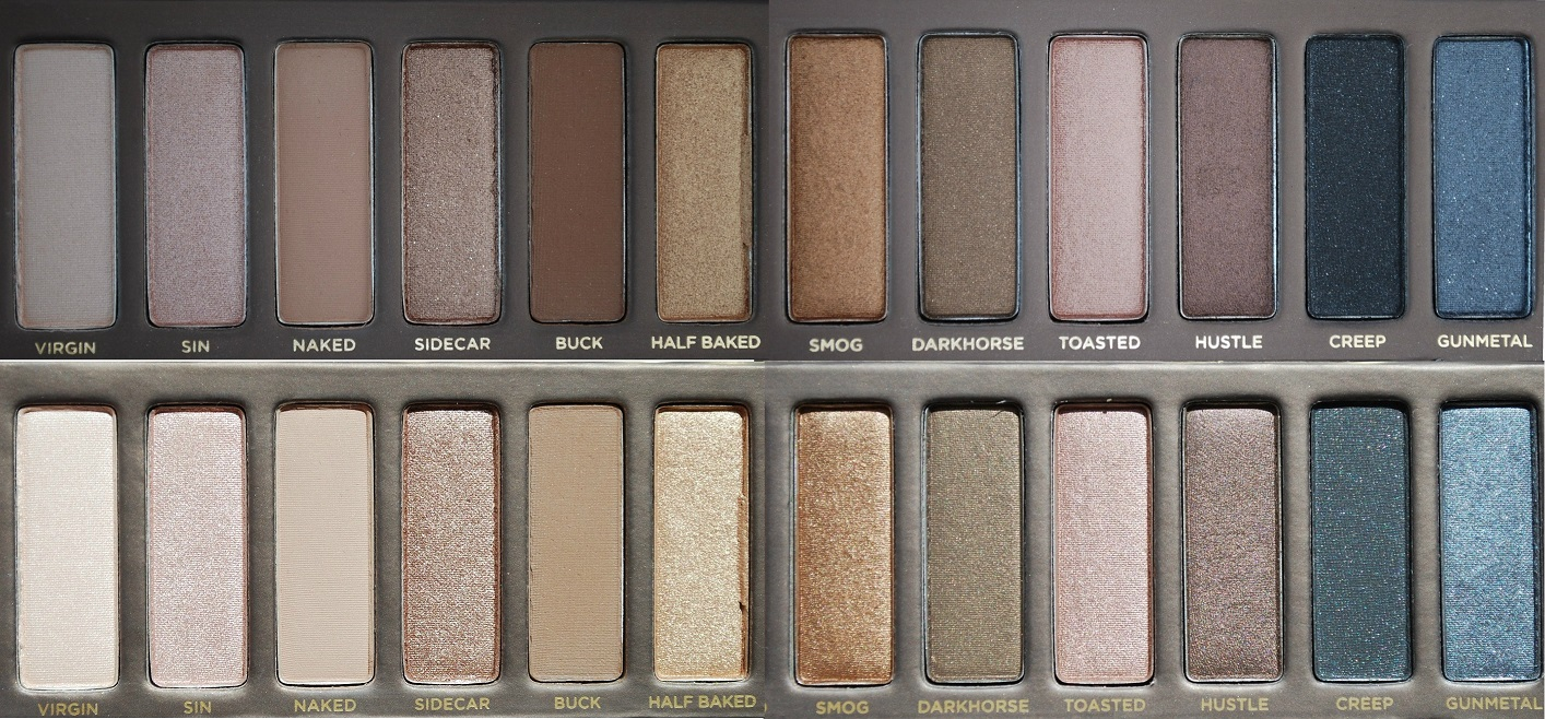 Naked 1 Urban Decay sunlight