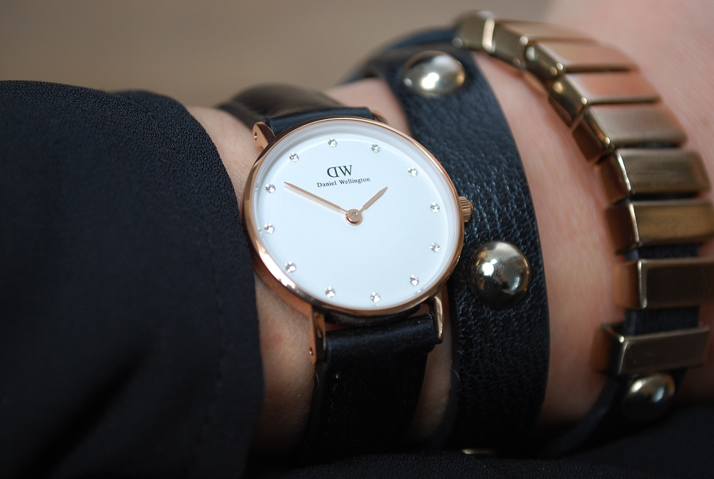 Watch with bracelets Daniel Wellington