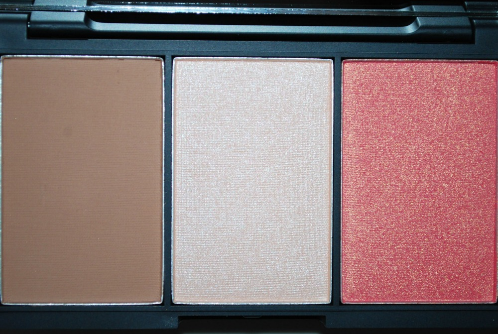 Review swatch Sleek Face Form Countouring Blush palette