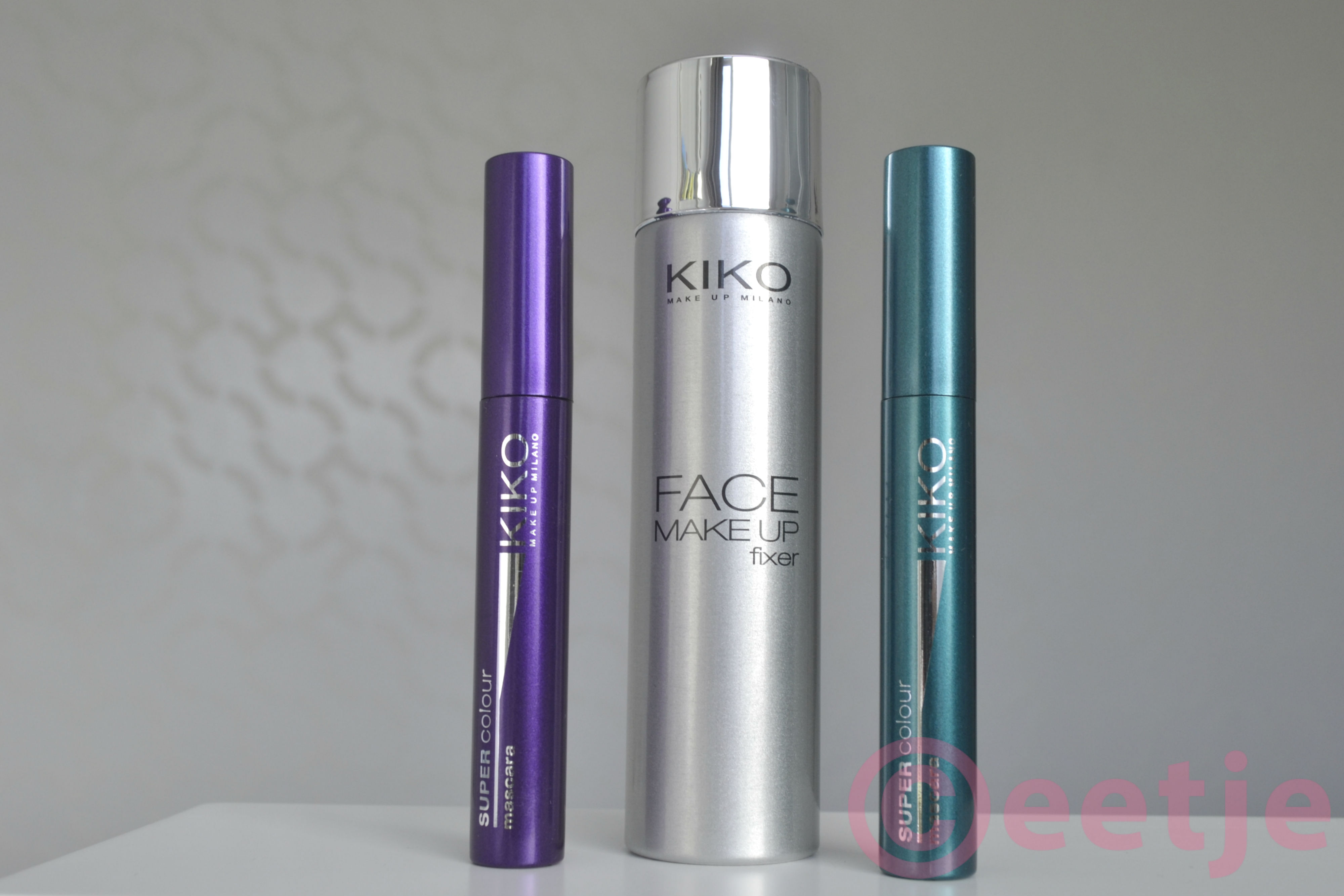 Kiko make up fixer setter