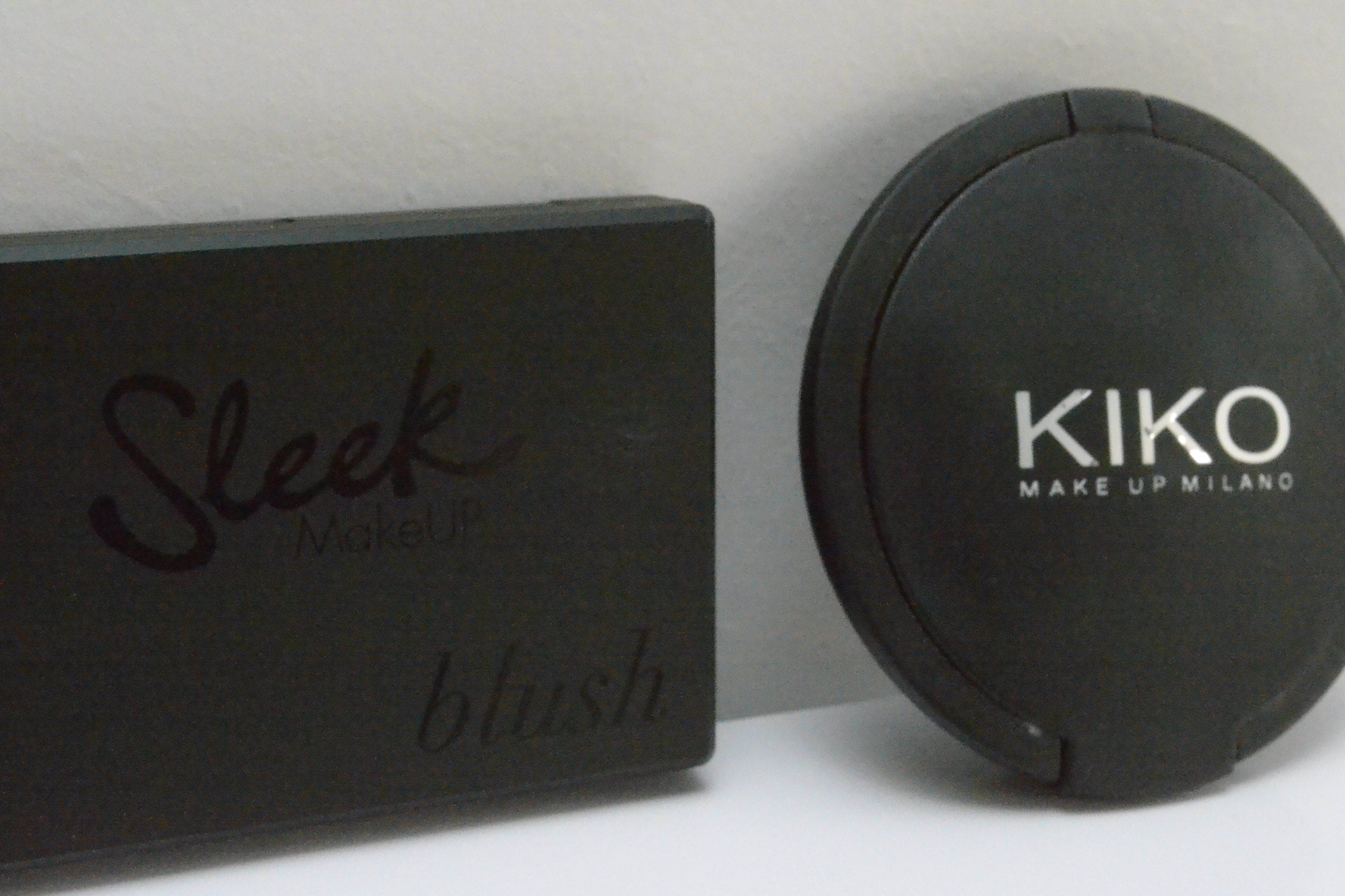 Sleek Rose Gold KIKO blush 103