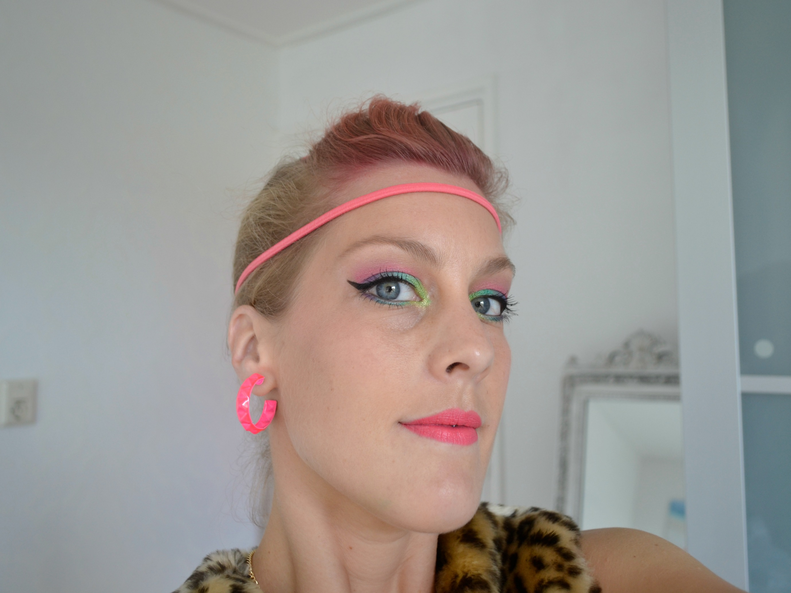 Fout feestje make up