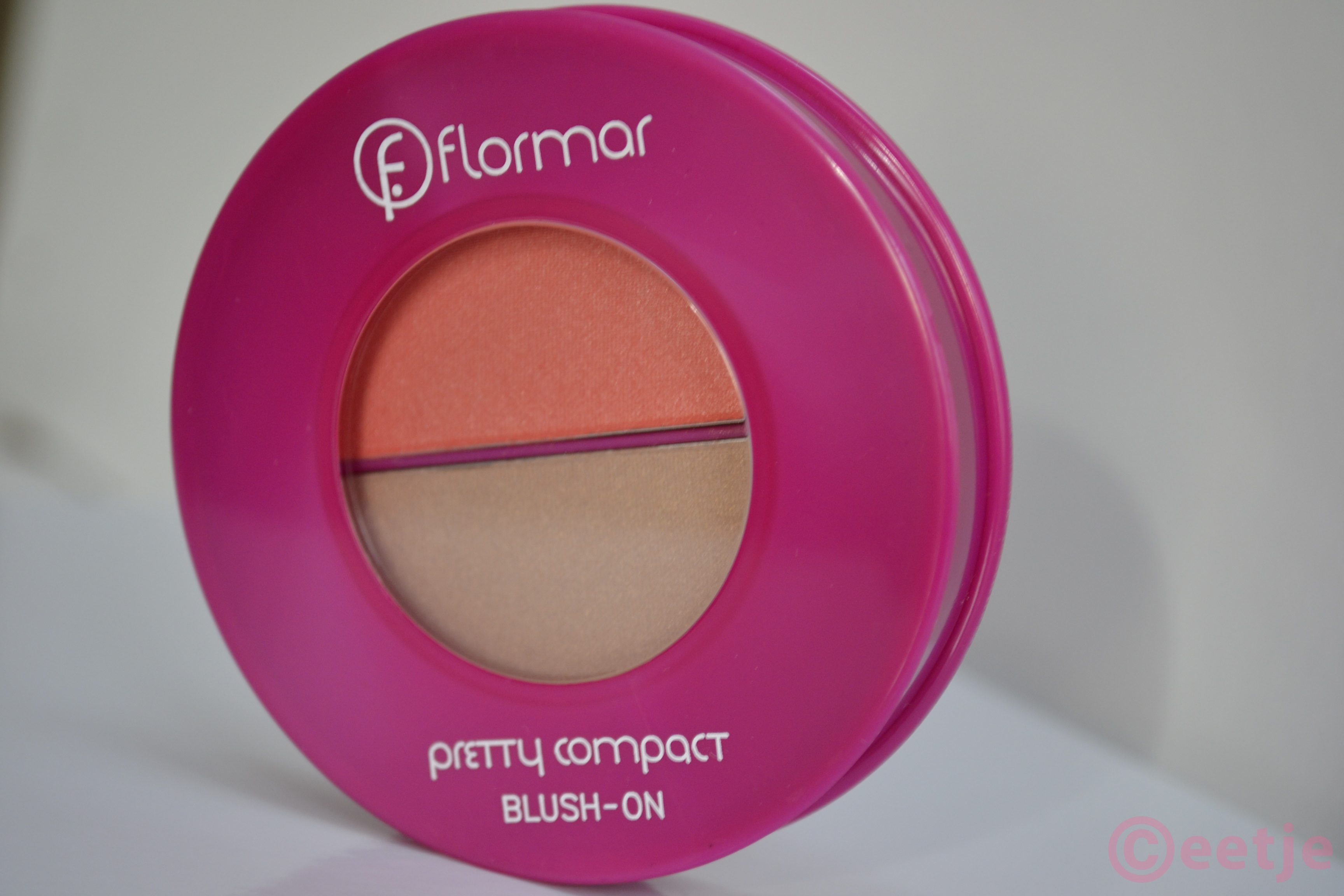 Blush Flormar Pretty compact  blush on p115
