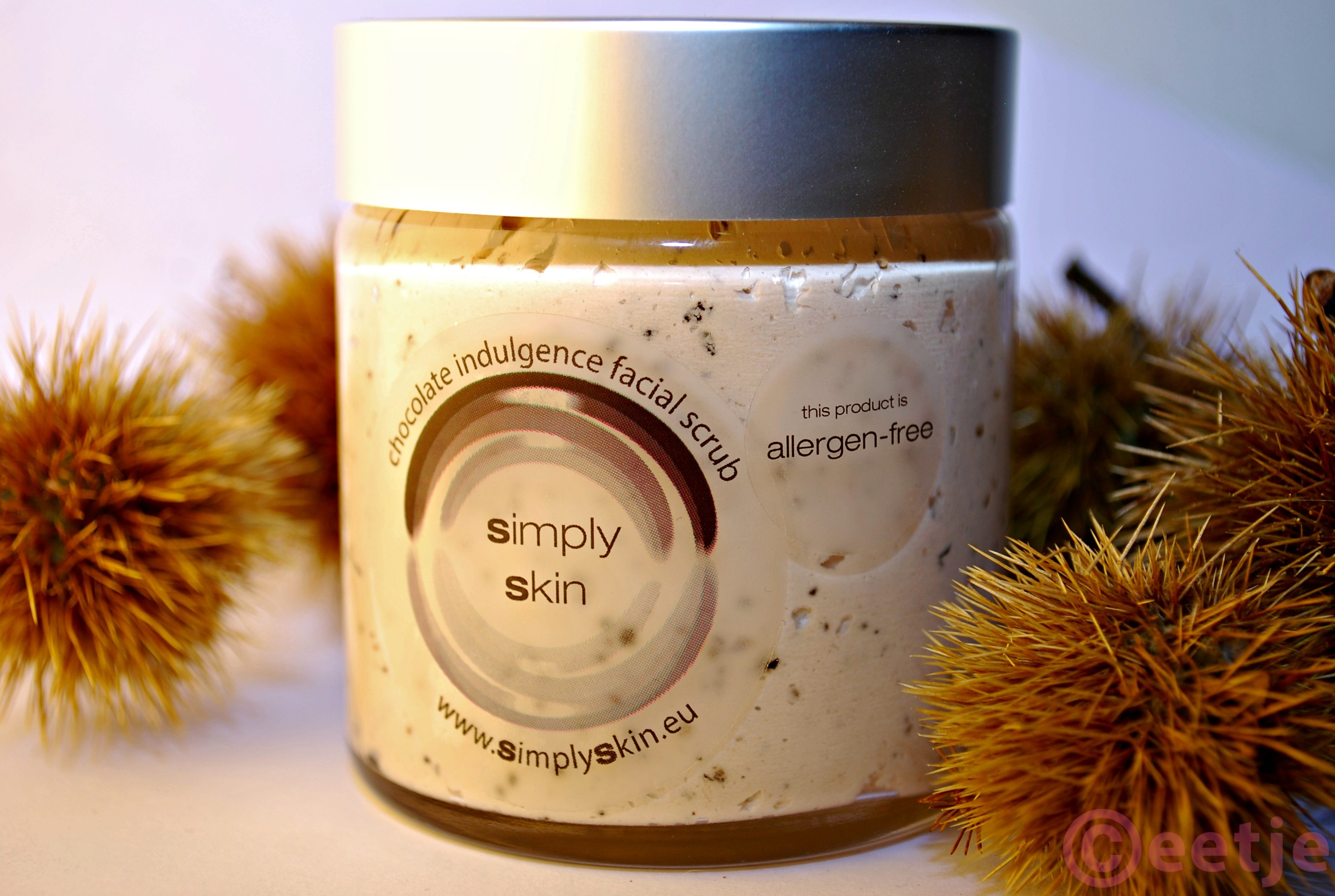 Simply Skin Chocolate indulgence facial scrub