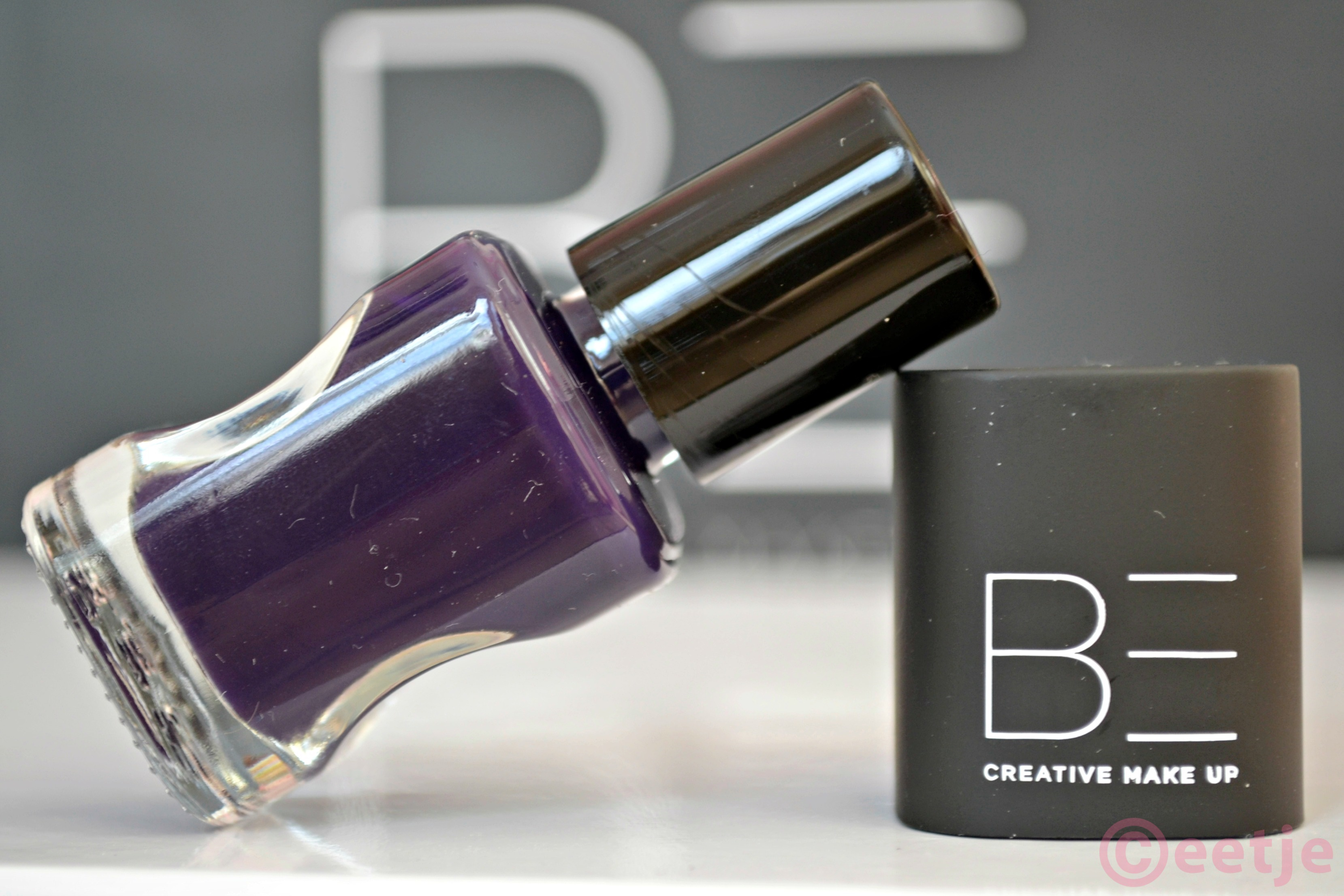 paarse nagellak Be creative 014 elixer make up sin purple nailpolish
