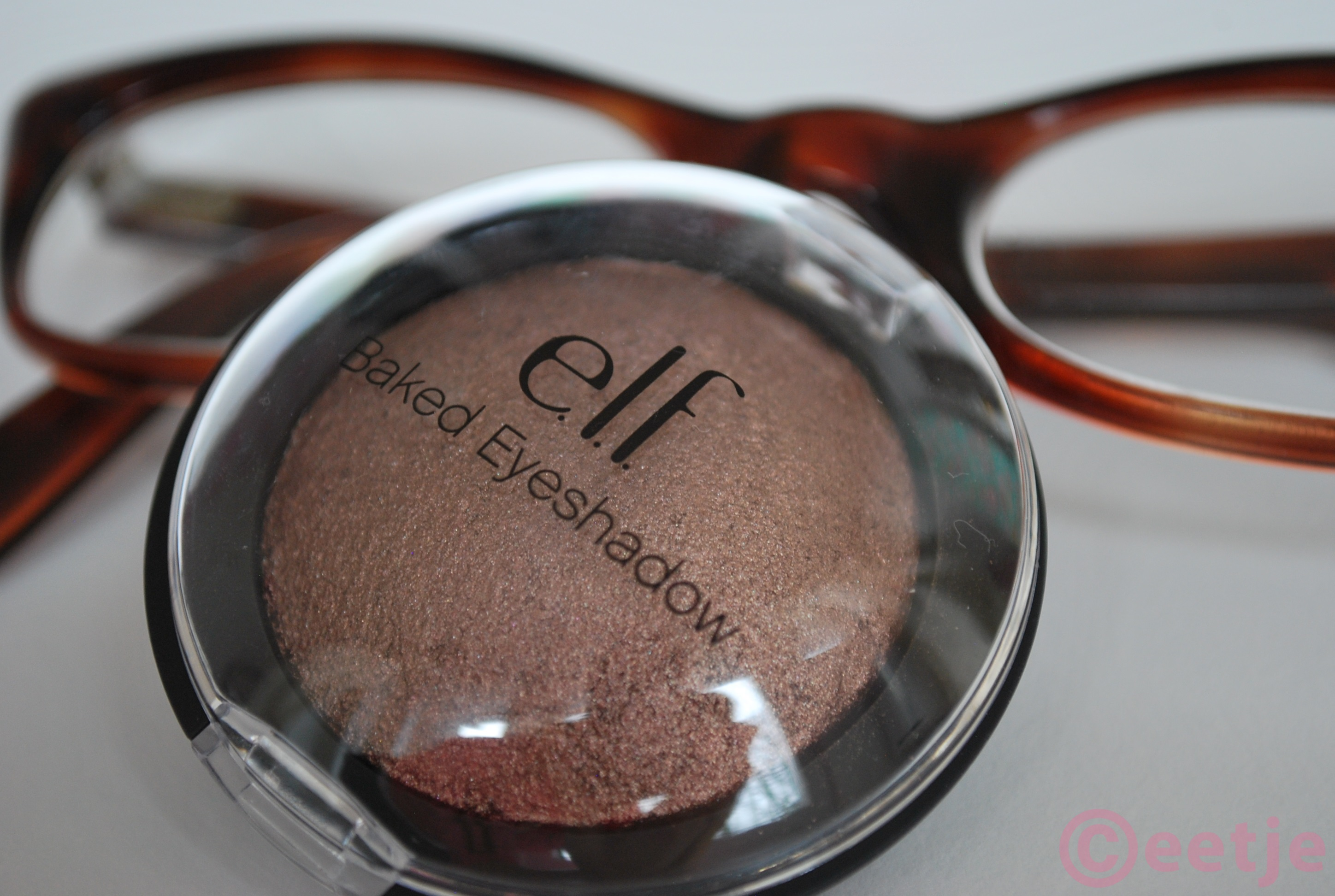 ELF baked eyeshadow Bark