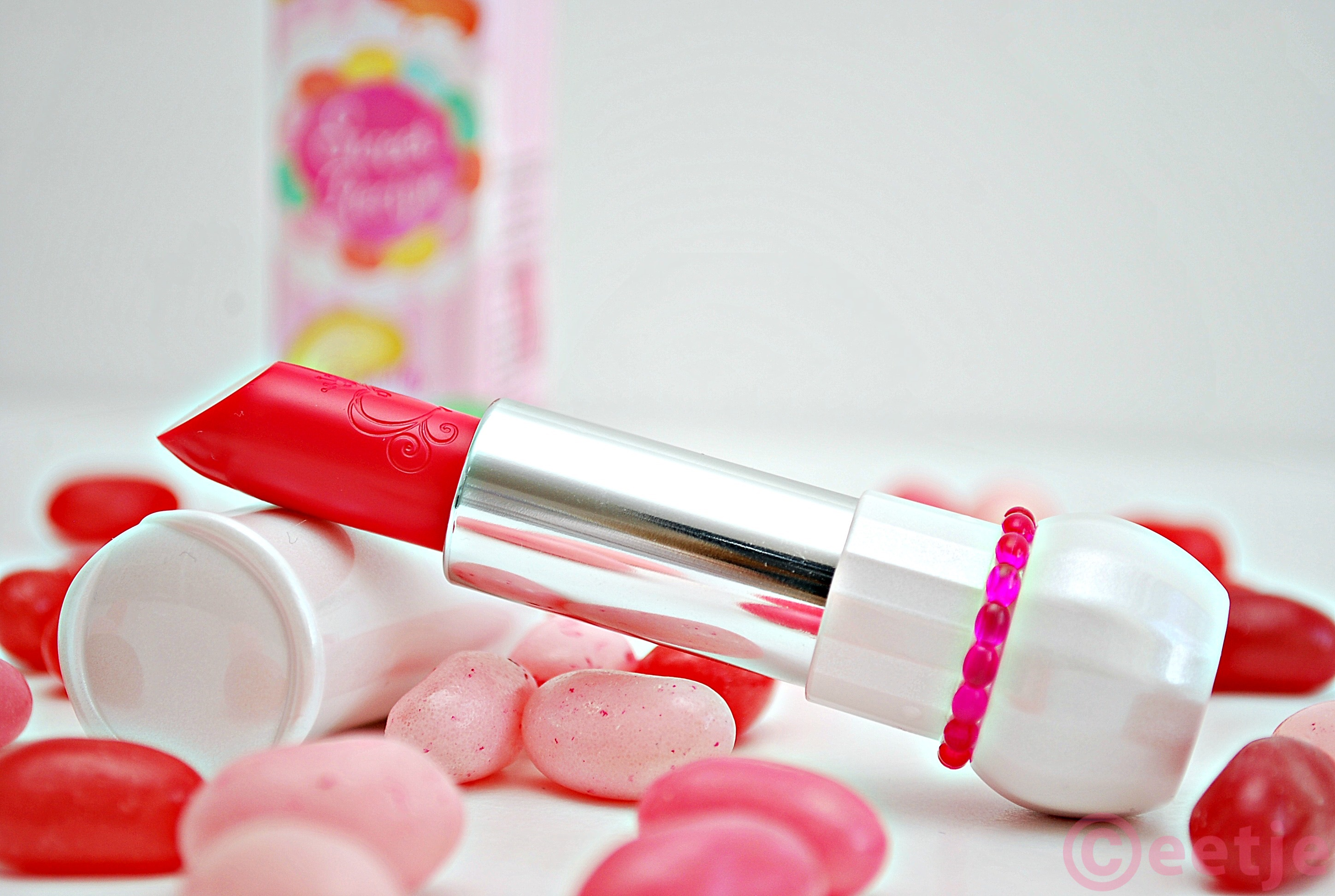 Sweet Recipe Dear My Jelly Lips Talk Syrupy Strawberry  Candy