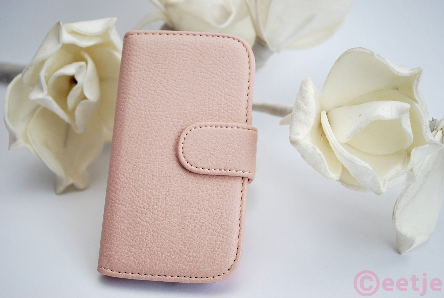 Samsung Galaxy S3 mini hoesje leatherlook