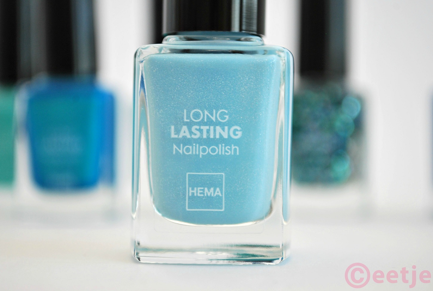 Hema nailpolish Ocean Water swatch review