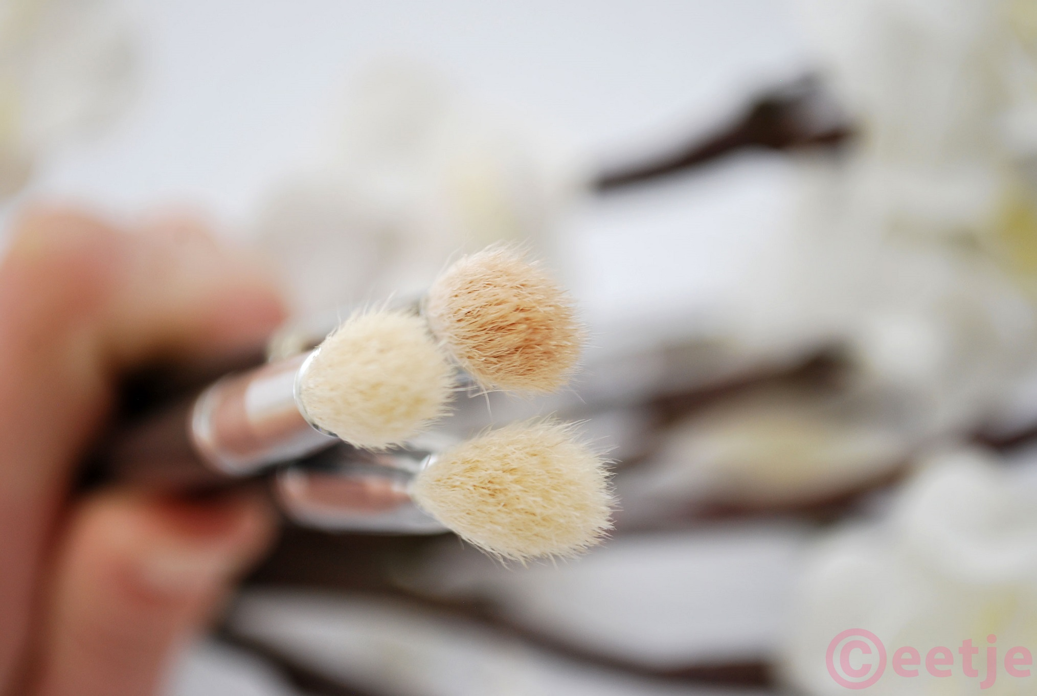 Review dupe MAC 217 222 brush kwast