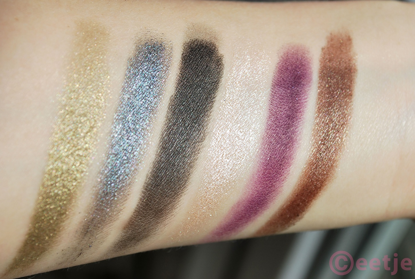 Sleek showstoppers swatch review 50 years superdrug