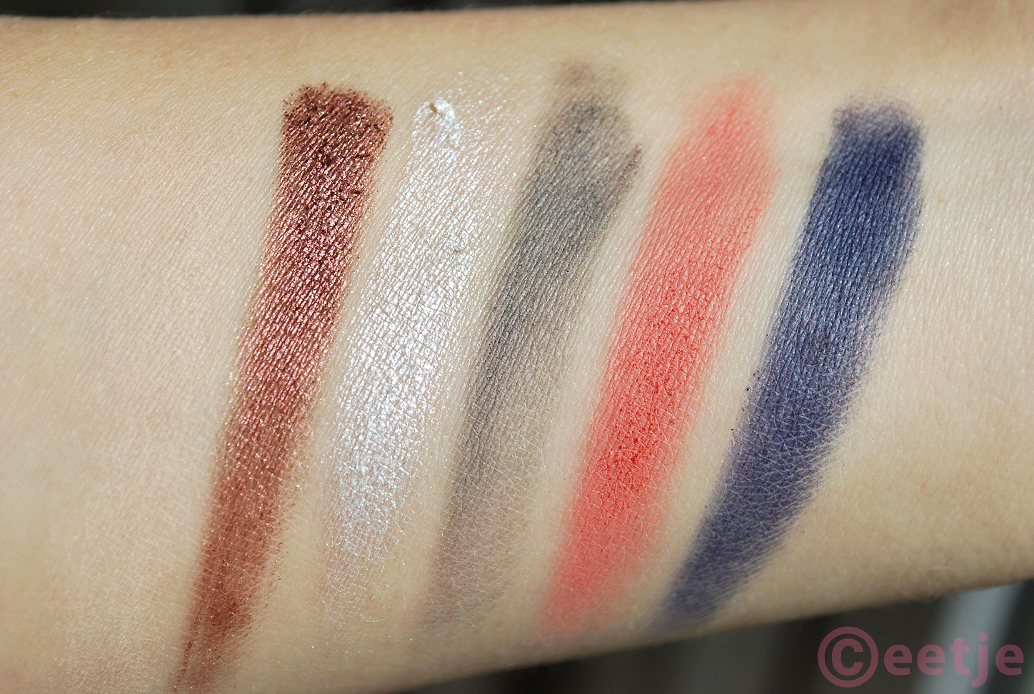 Swatch Sleek showstoppers 50 years superdrug palette