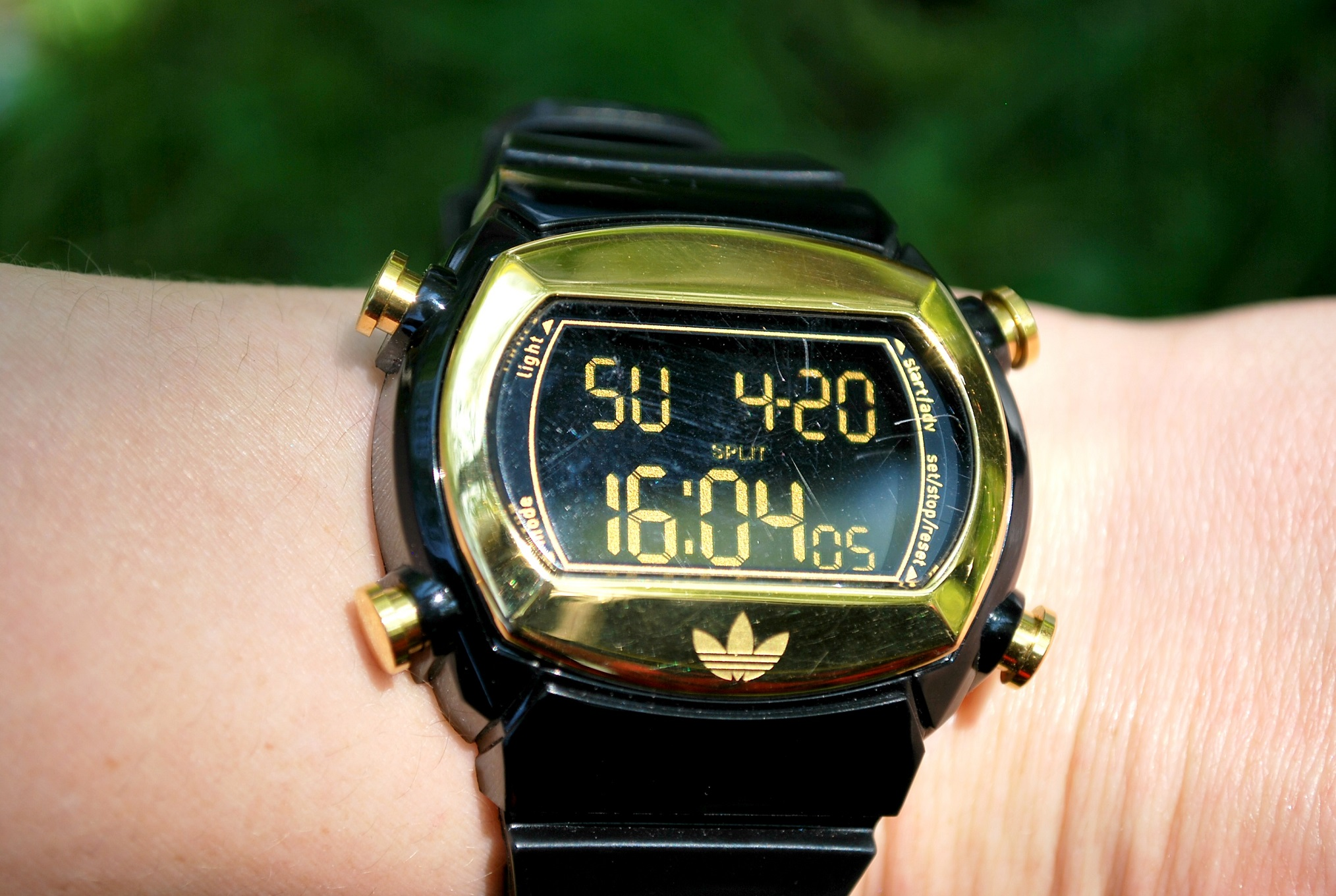 Zwart goud Adidas horloge black gold watch
