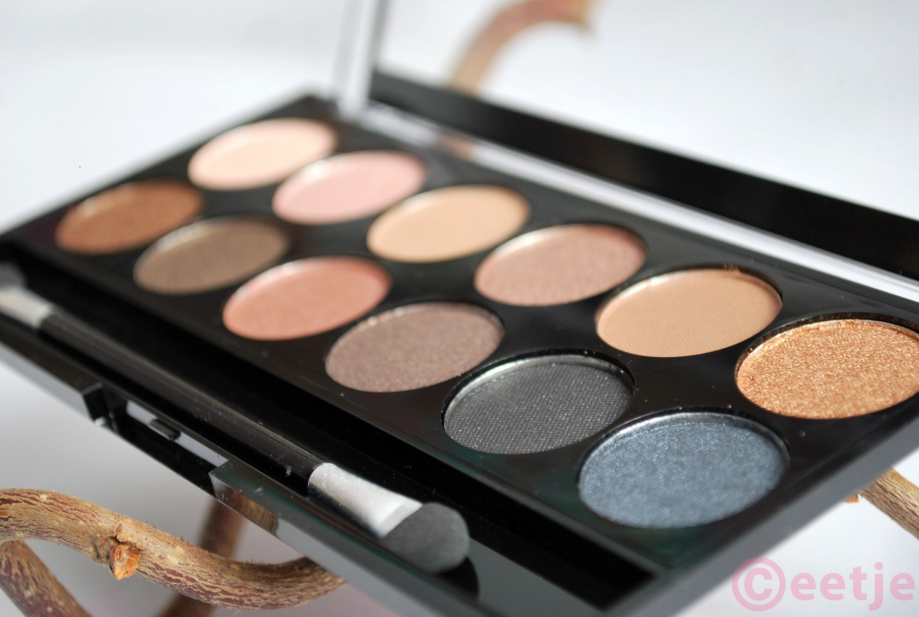Review MUA Undressed eyeshadow review