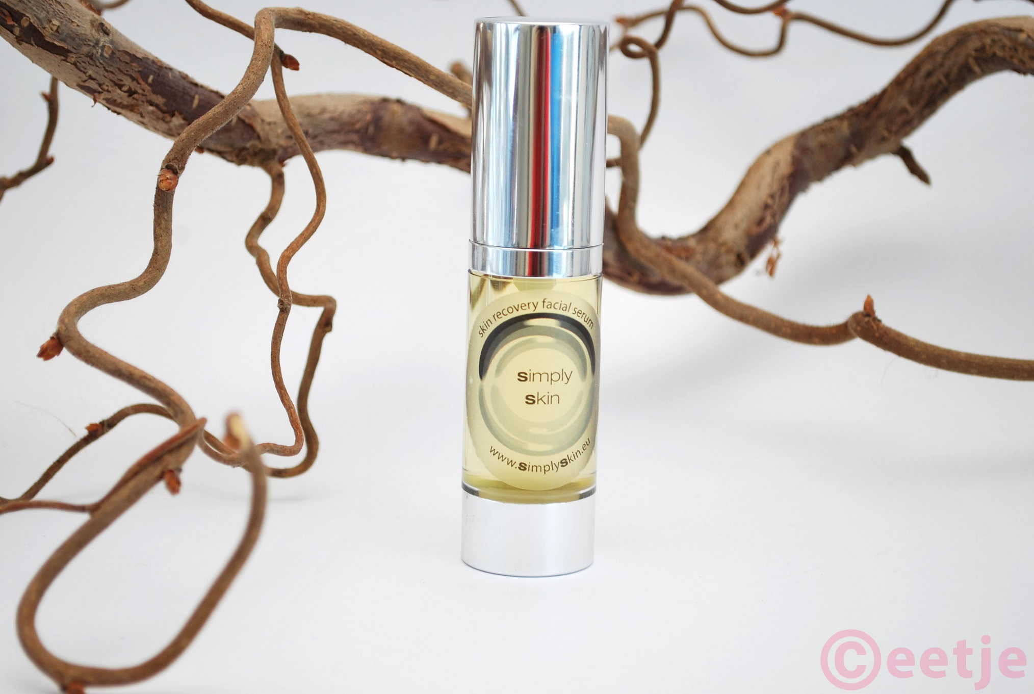Review Simply skin facial recovery serum