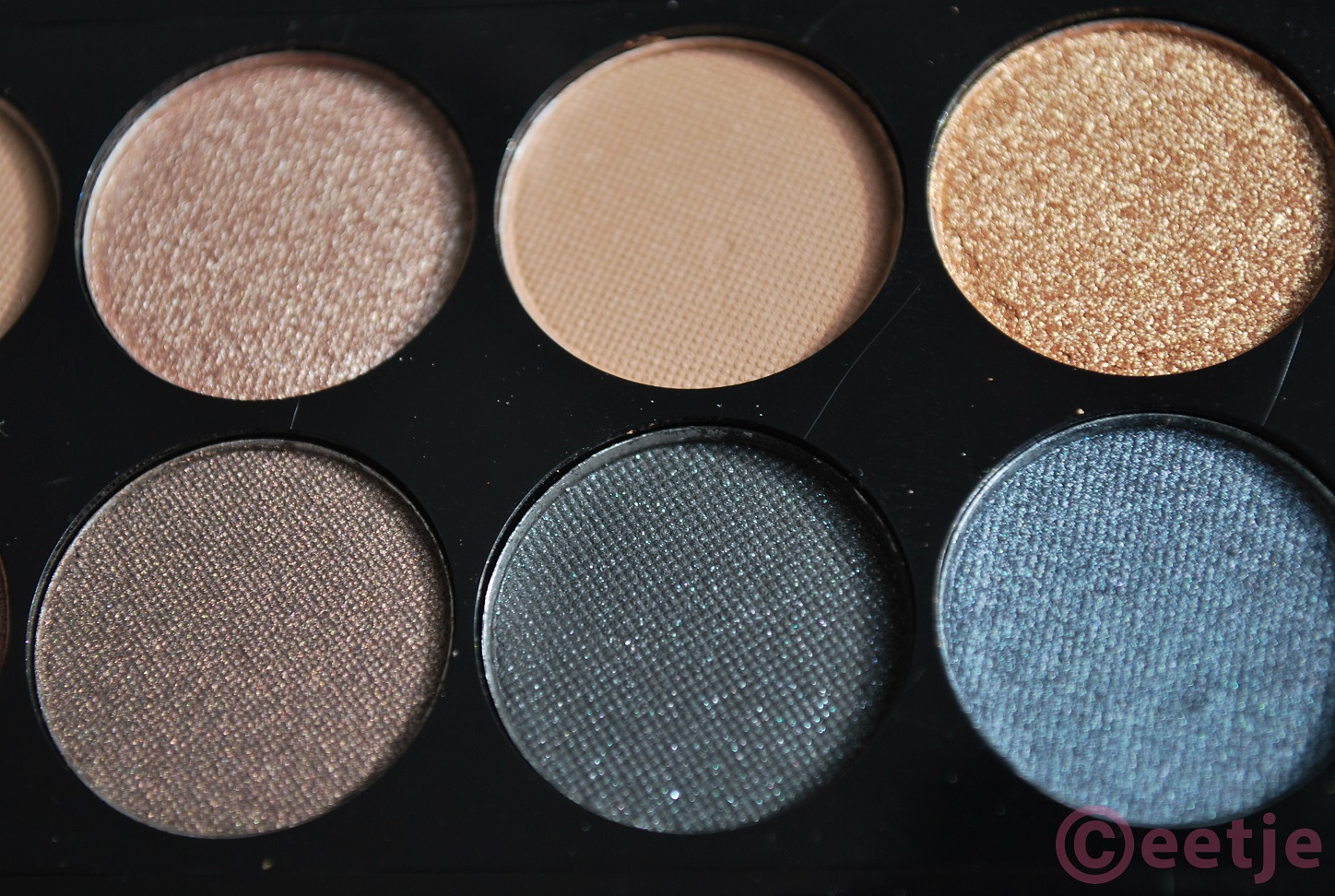Review swatches mua eyeshadow oogschaduw undressed