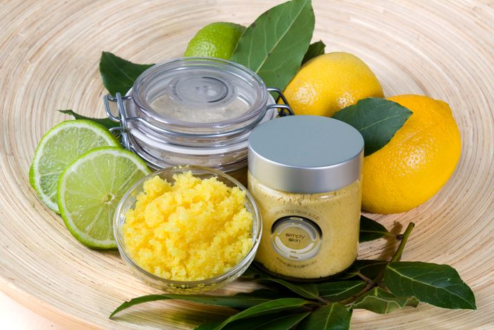 Simply Skin bodybutter bodyscrub