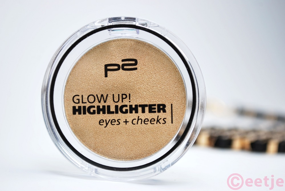 P2 glow up highlighter gold review
