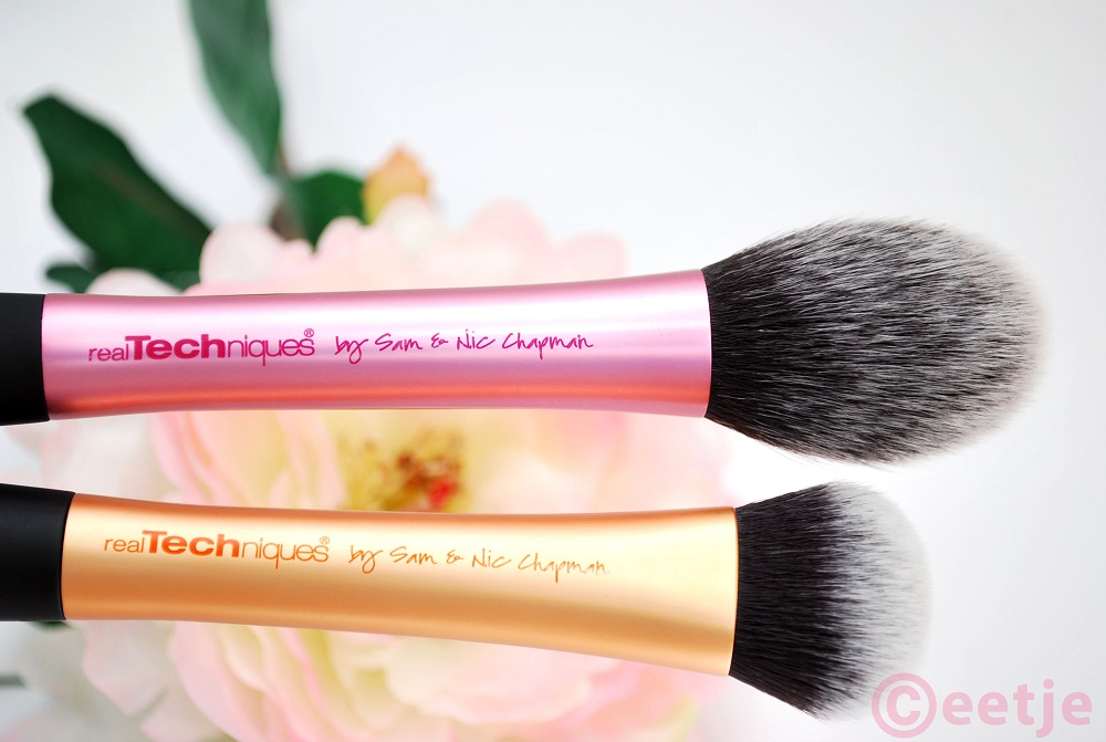 Real Techniques kwasten face expert blush brush review
