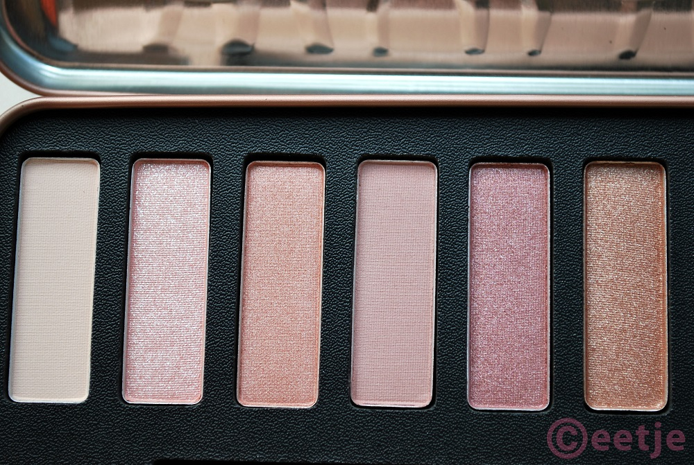 Review W7 in the nude palette Naked3 dupe