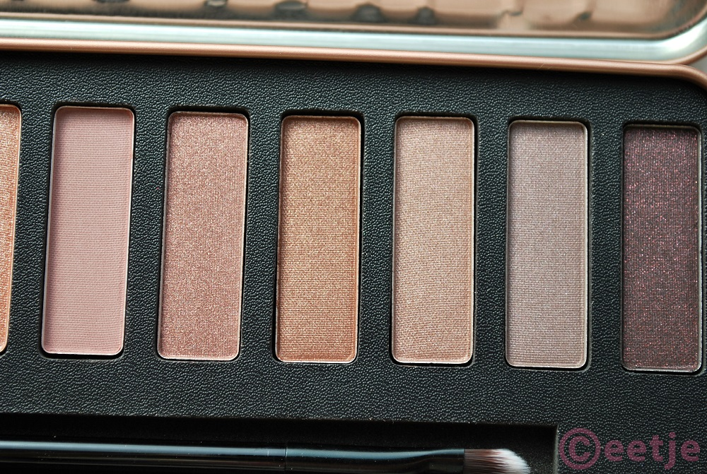Swatches W7 in the nude review