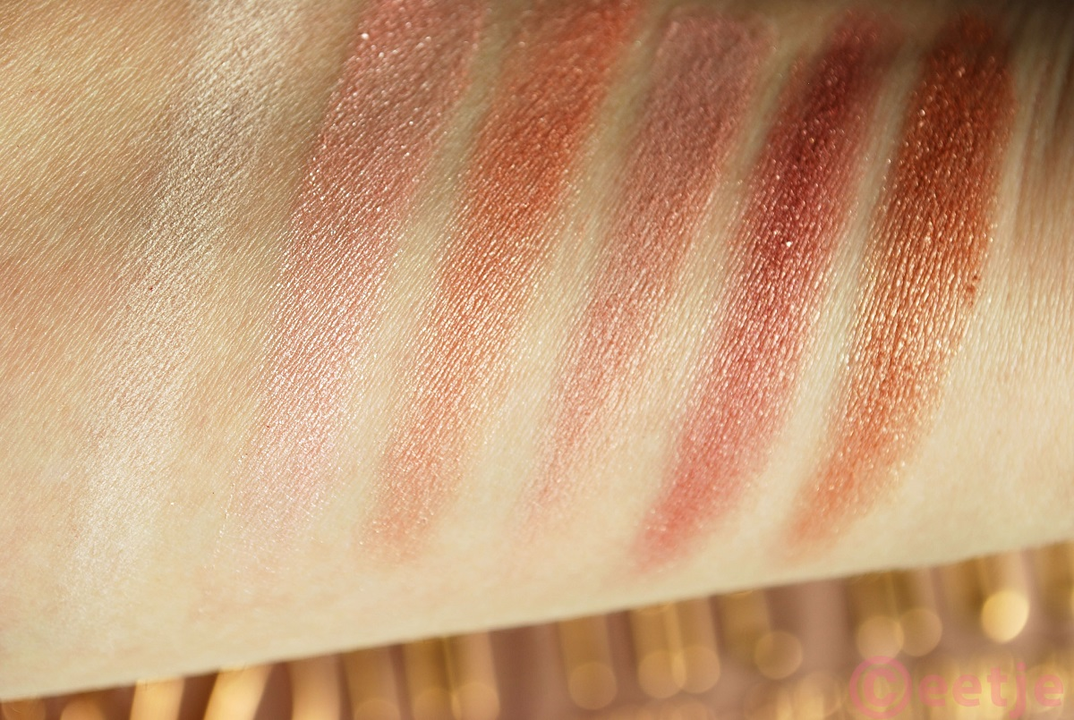 Swatches W7 in the nude review naked3 dupe