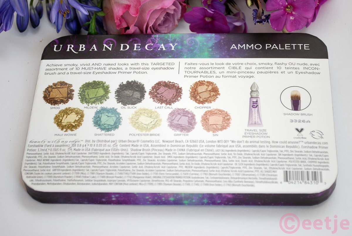 Best colors Urban Decay eyeshadow