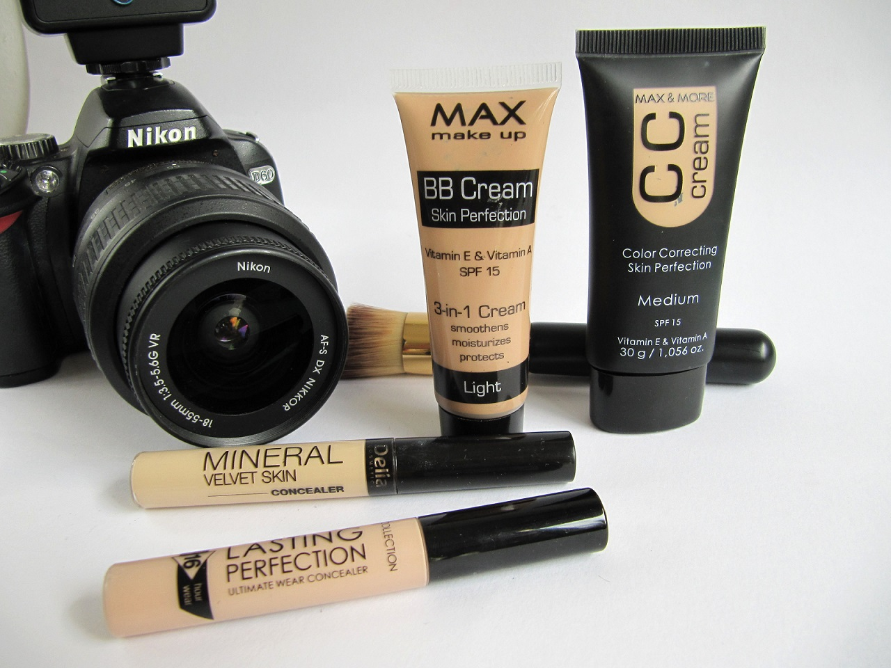 MAC CC cream Action BB cream Collection 2000 concealer Wibra