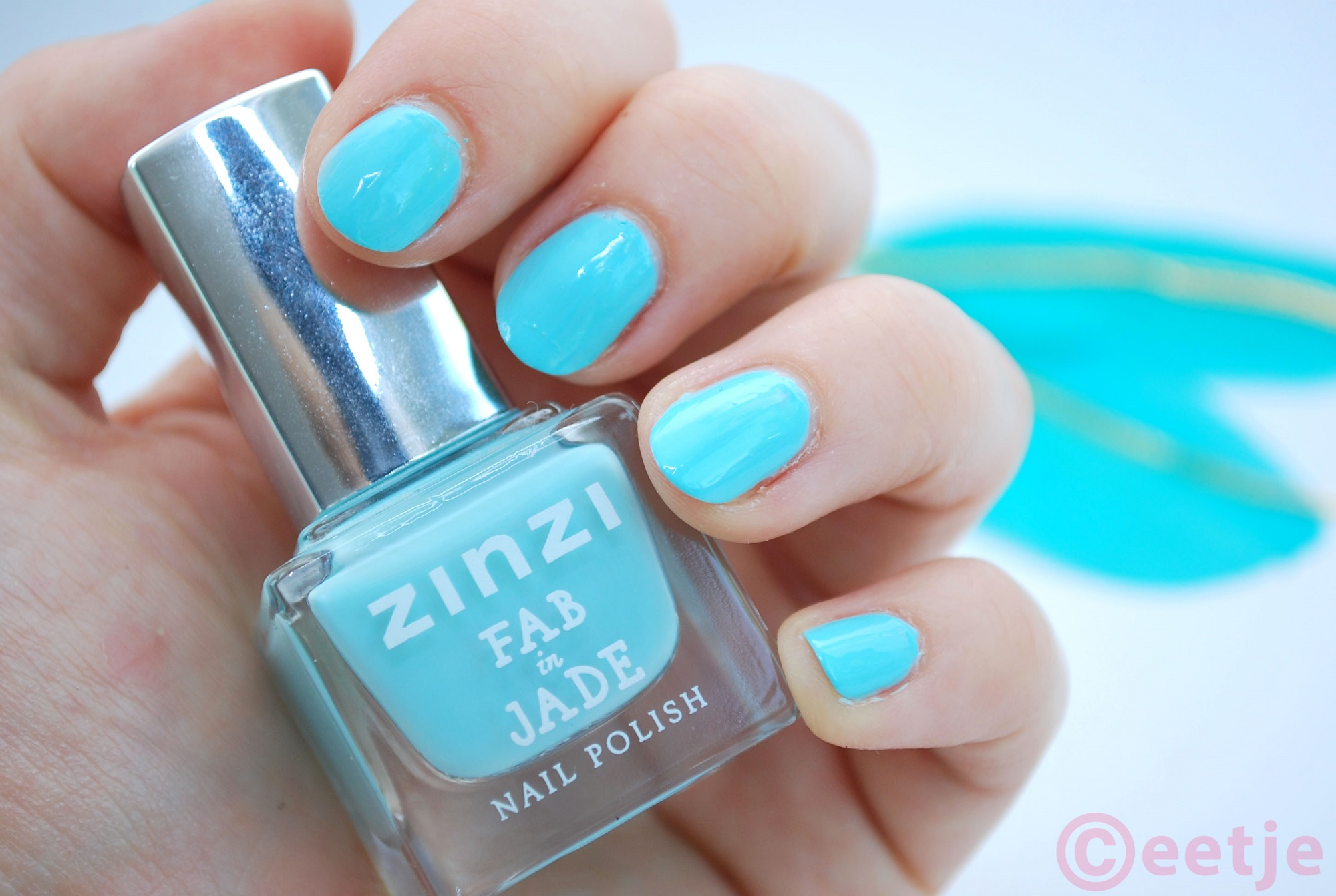 review Zinzi nagellak Fab in Jade